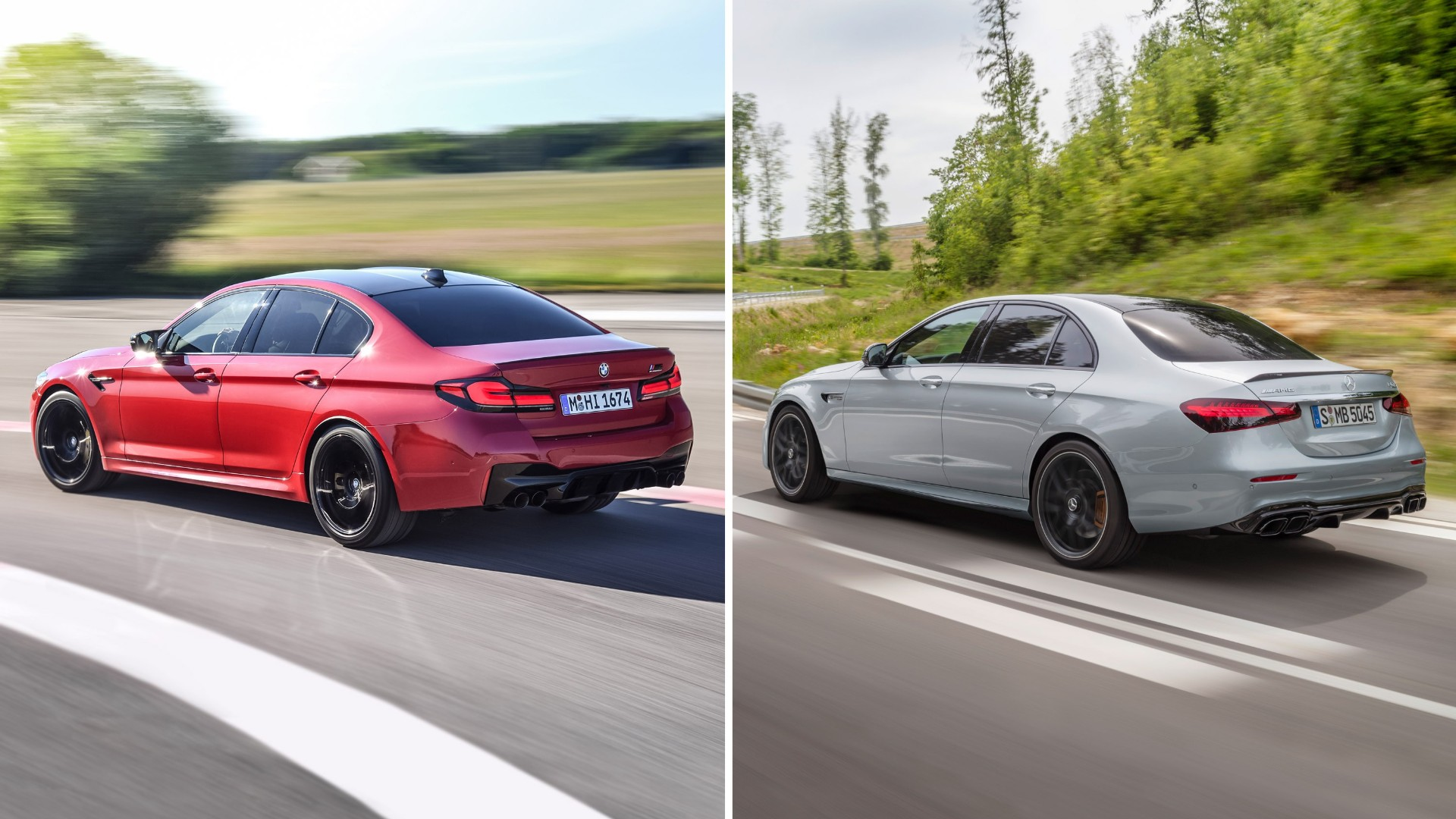 BMW M5 Competition VS Mercedes-AMG E 63 S 4MATIC+