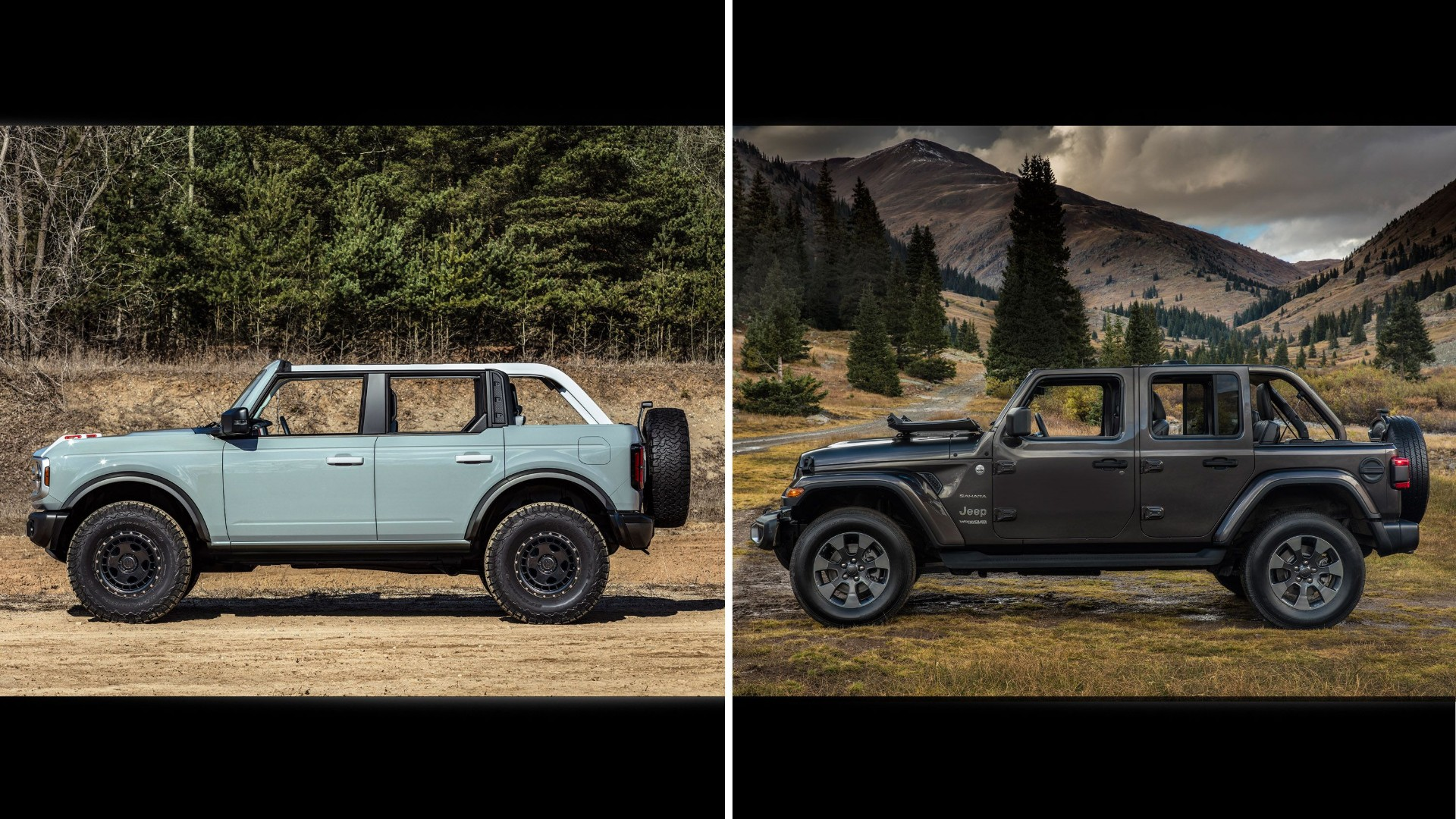 Ford Bronco VS Jeep Wrangler