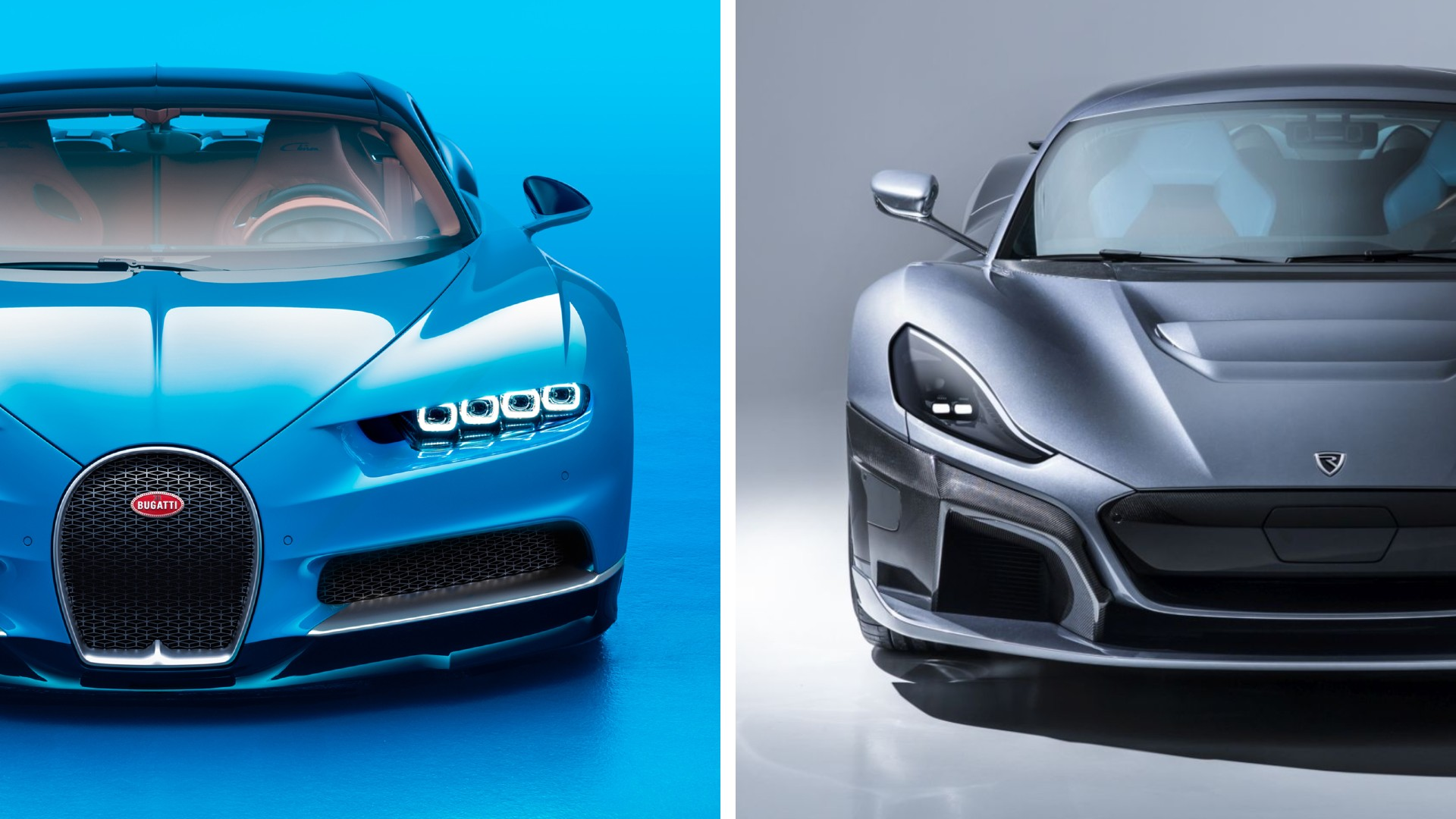 Bugatti and Rimac