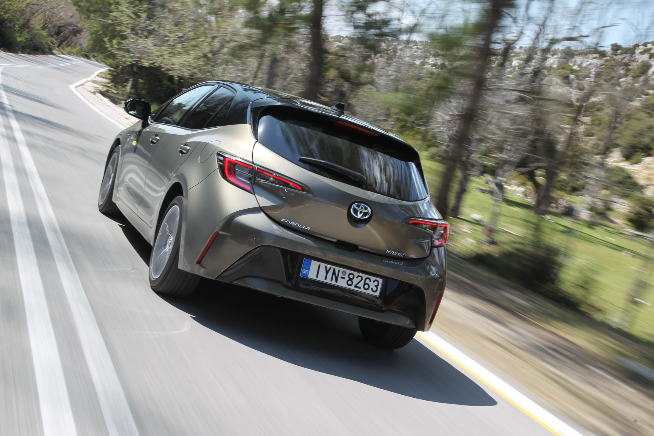 Δοκιμή κίνησης: Toyota Corolla 1.8 Hybrid