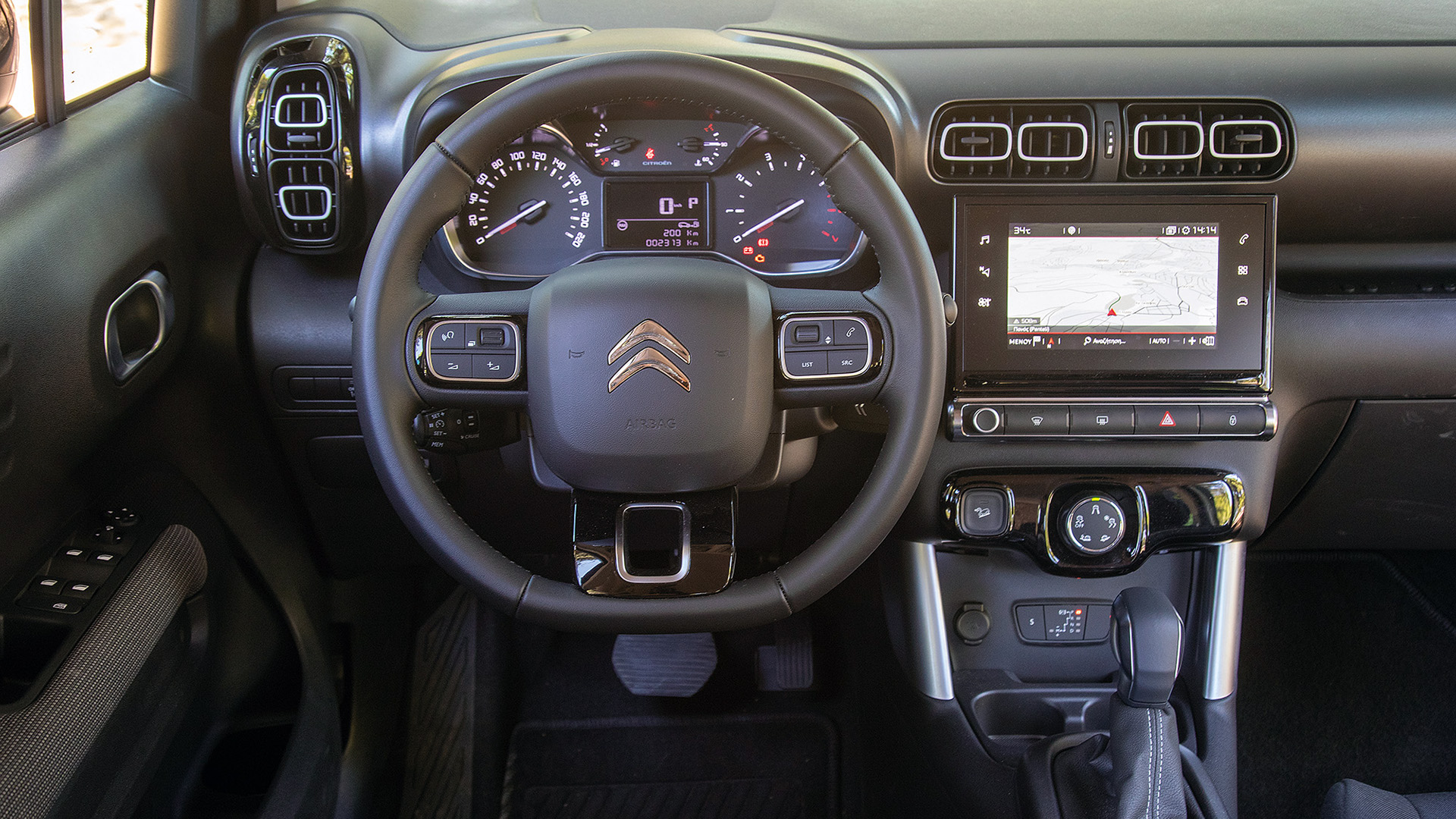 Δοκιμή κίνησης: Citroën C3 Aircross 1.5 BlueHDi 120 EAT6