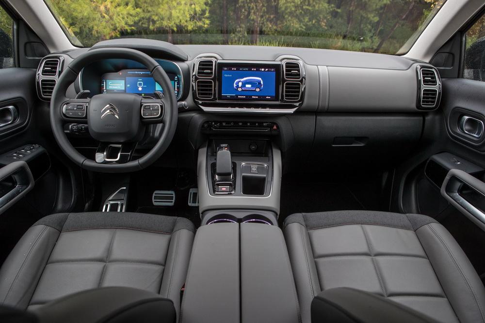 Δοκιμή κίνησης: Citroën C5 Aircross PHEV