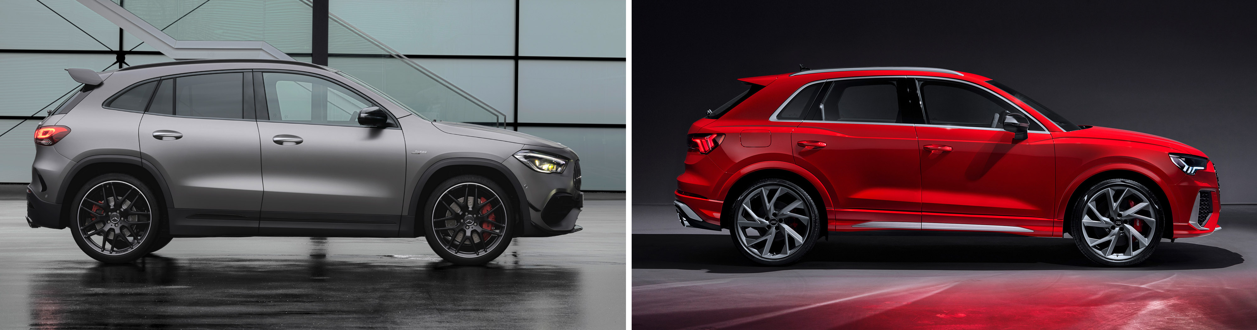 Mercedes-AMG GLA 45 S 4MATIC+ VS Audi RS Q3