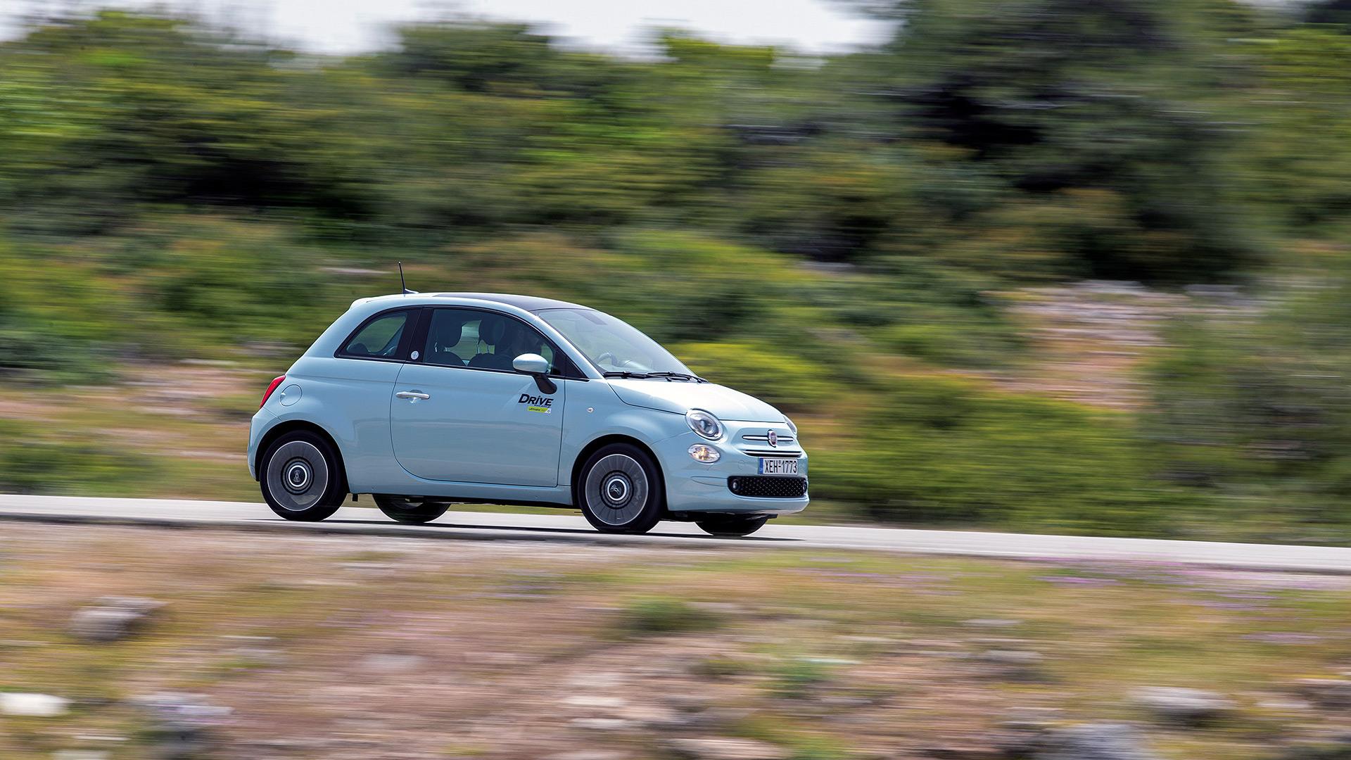 Δοκιμή κίνησης: FIAT 500 1.0 Hybrid