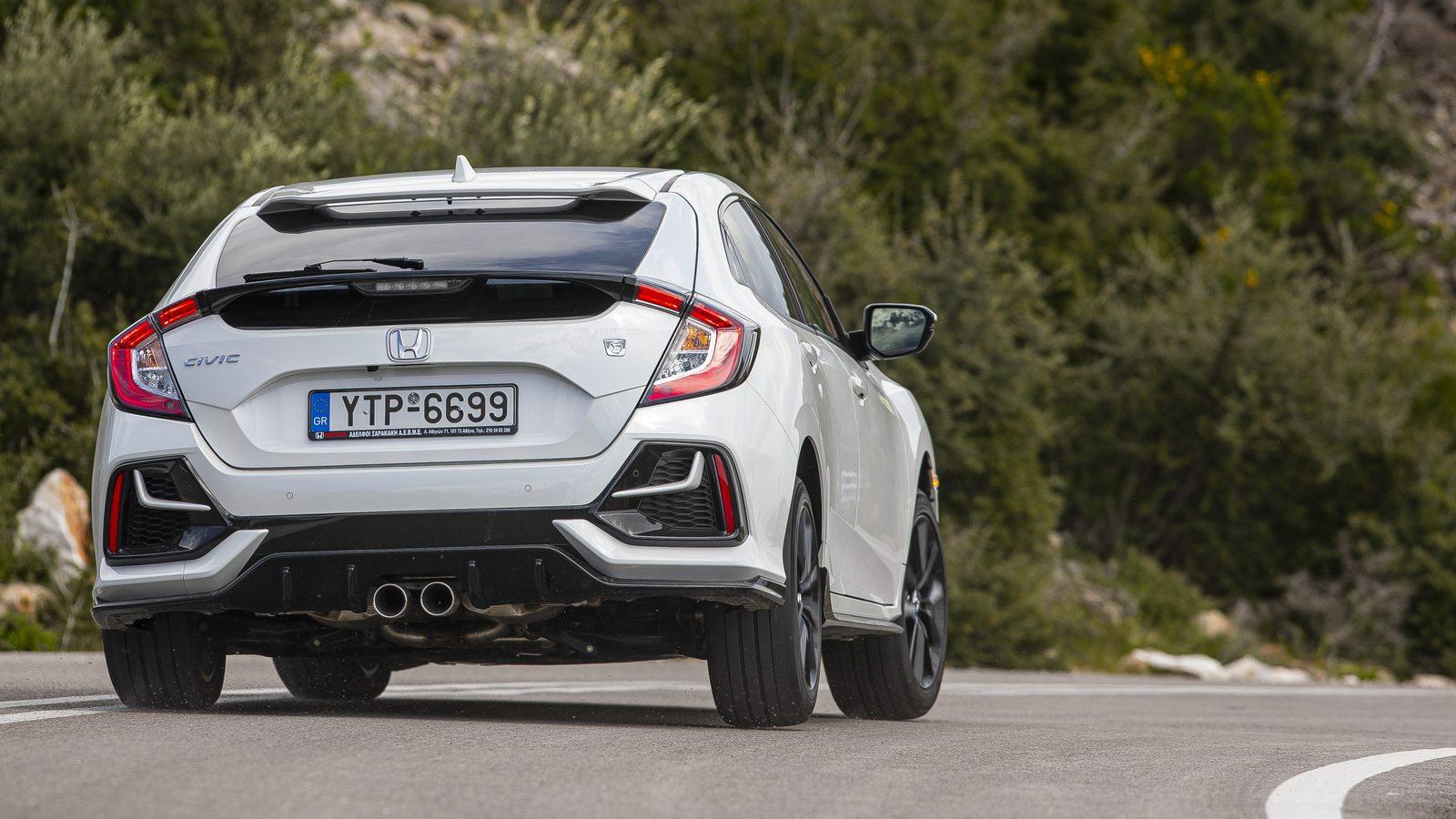 Δοκιμή κίνησης: Honda Civic 1.5 VTEC Turbo MY2020