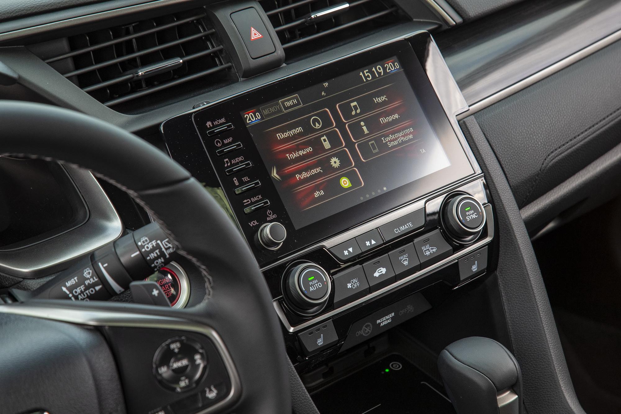 Δοκιμή κίνησης: Honda Civic 1.5 VTEC Turbo CVT 2020