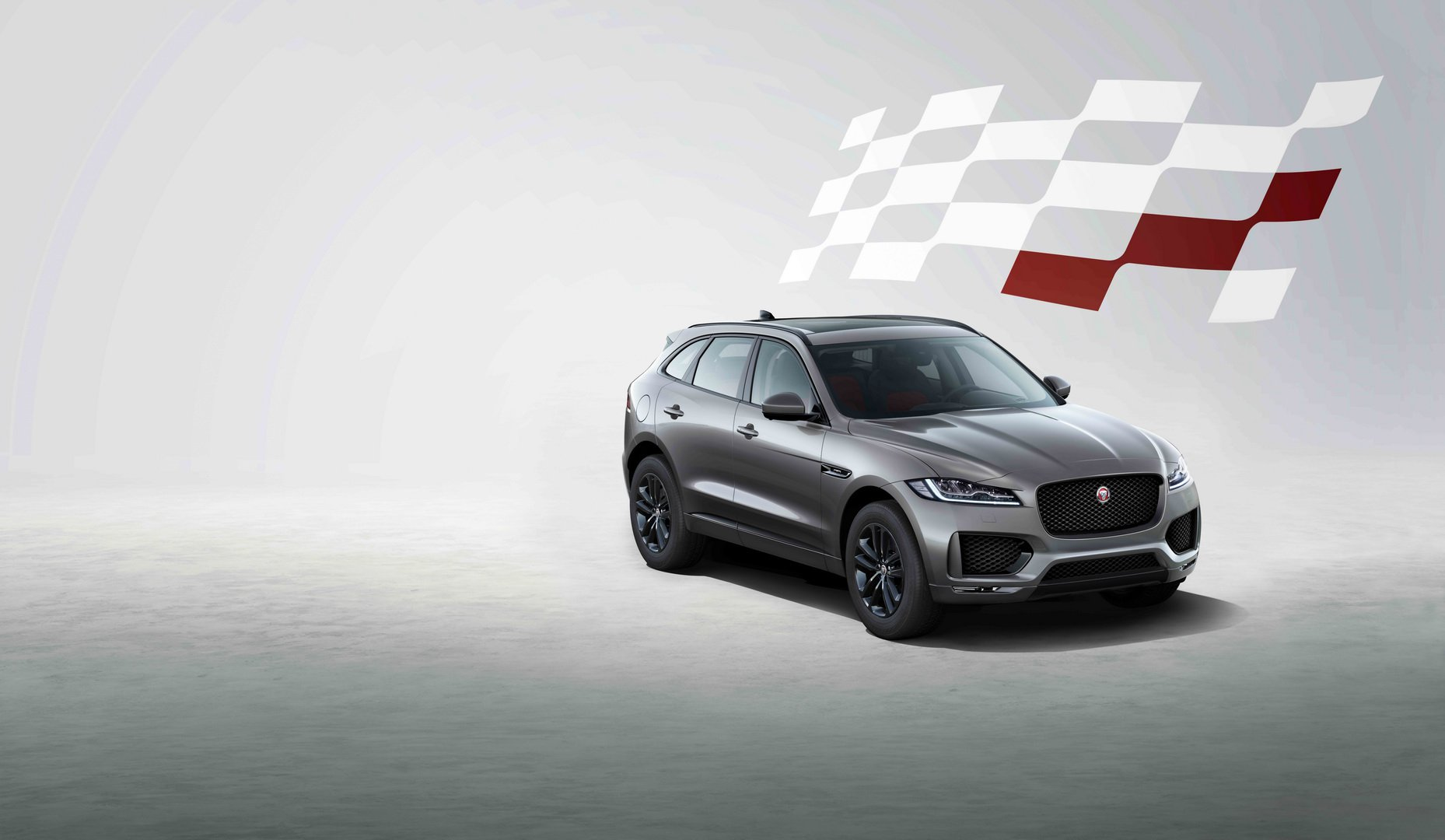 Jaguar F-Pace chequered-flag