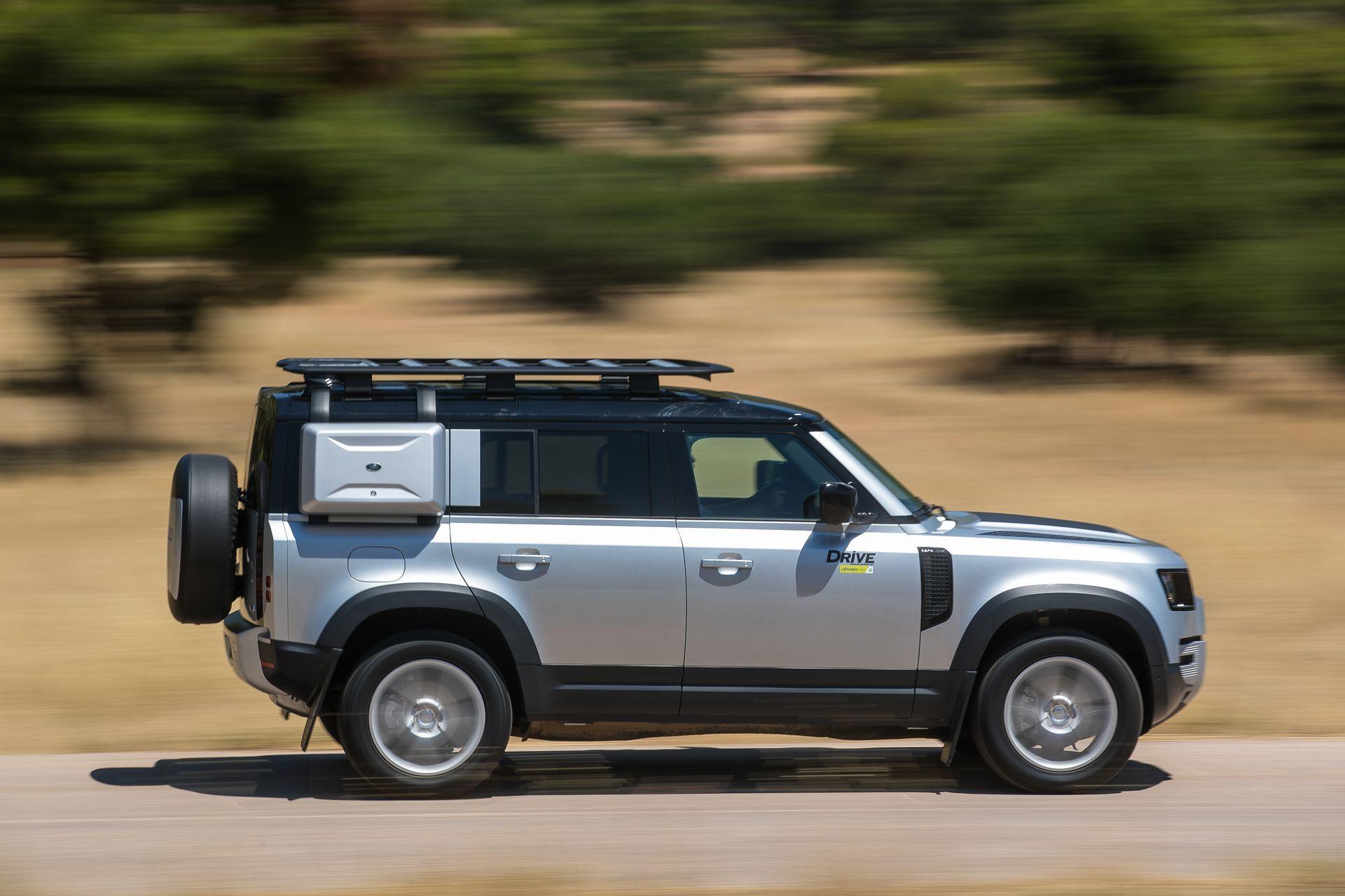 Δοκιμή κίνησης: Land Rover Defender 110 2.0 SD4 240 PS
