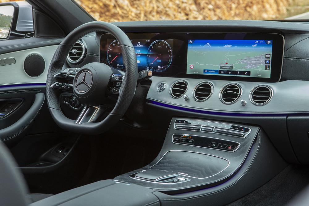 Δοκιμή κίνησης: Mercedes-Benz E 300 e