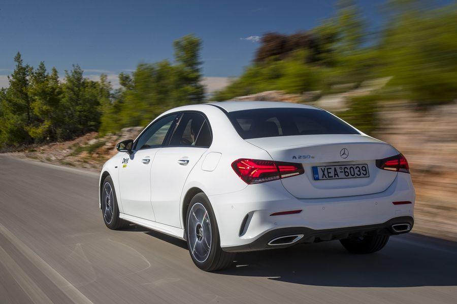 Δοκιμή κίνησης: Mercedes-Benz Α 250 e Sedan