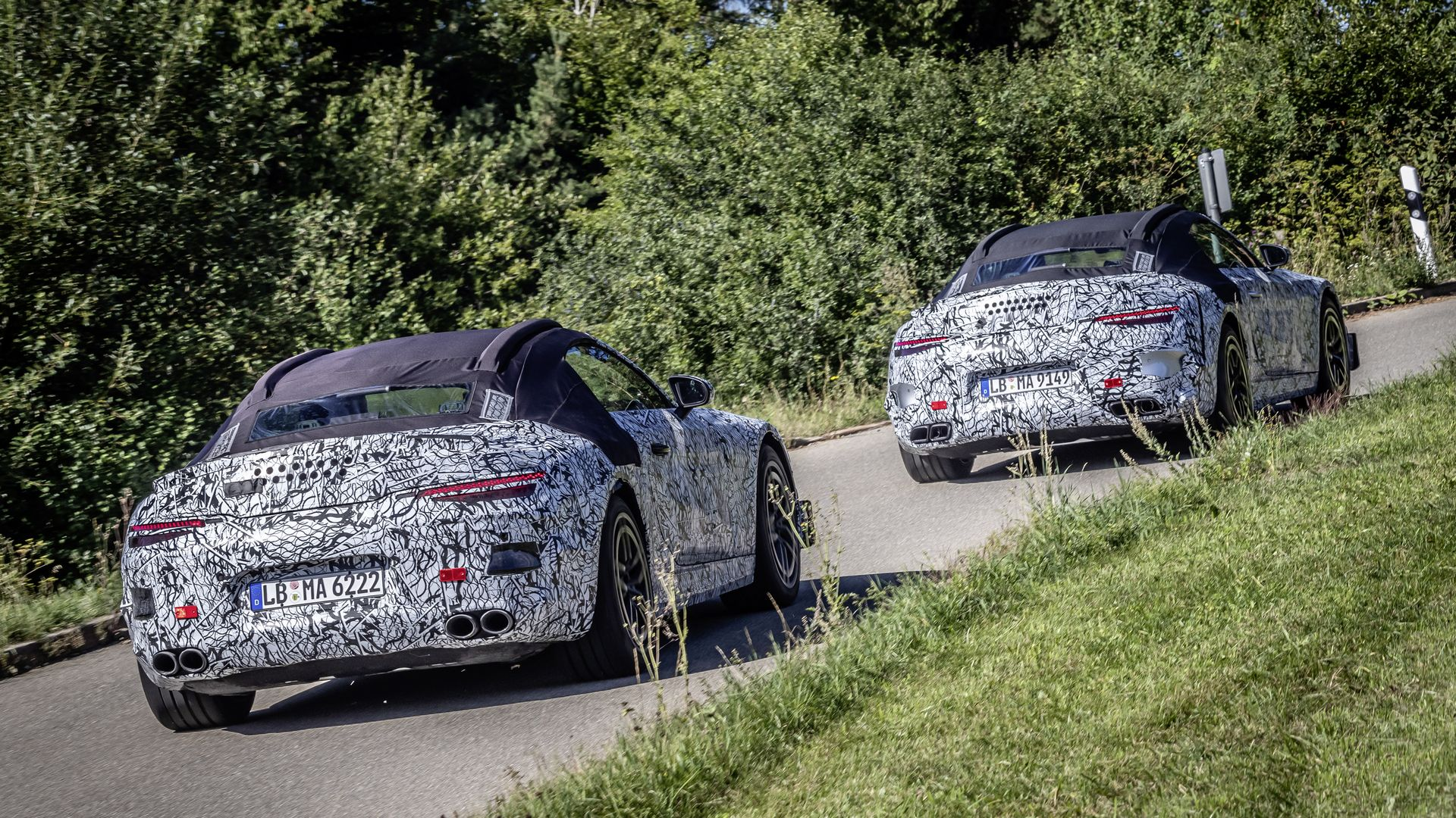 Mercedes-Benz SL Roadster Official Spy Photos 4