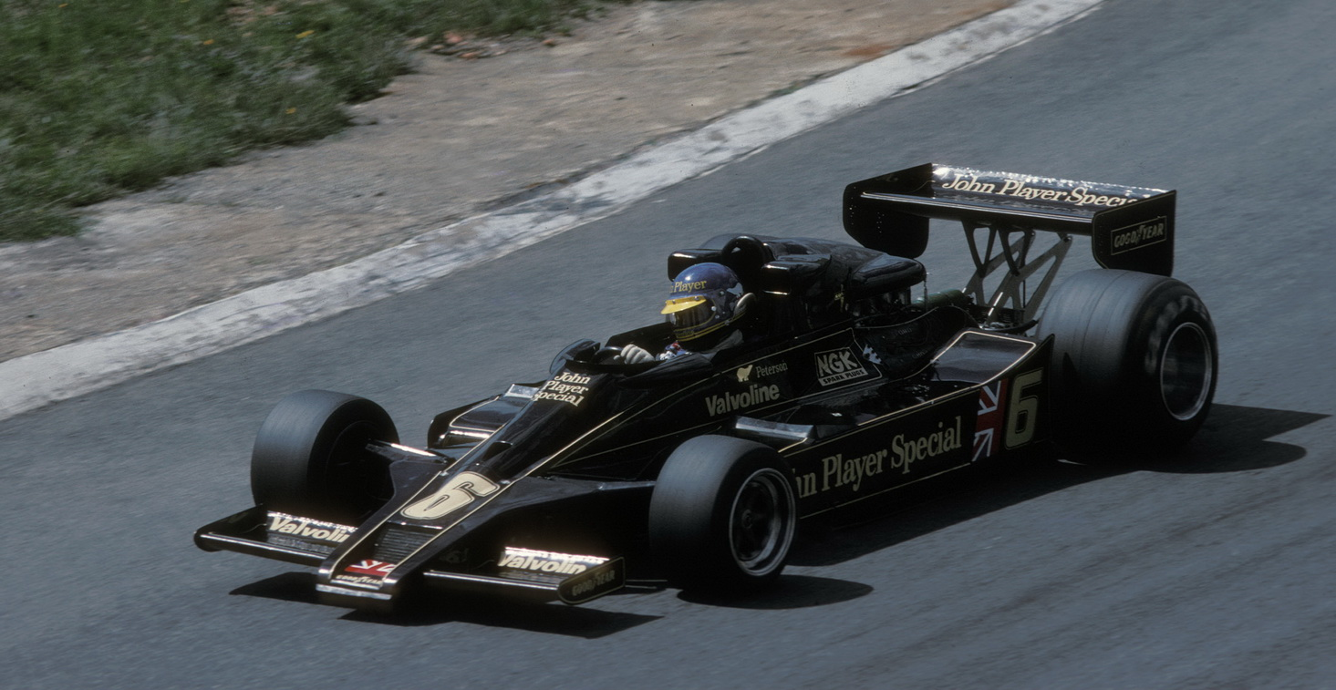Peterson_Lotus_South African GP 1978