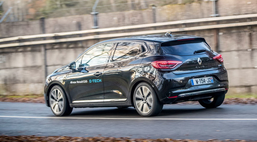 Renault Clio E-Tech_rear