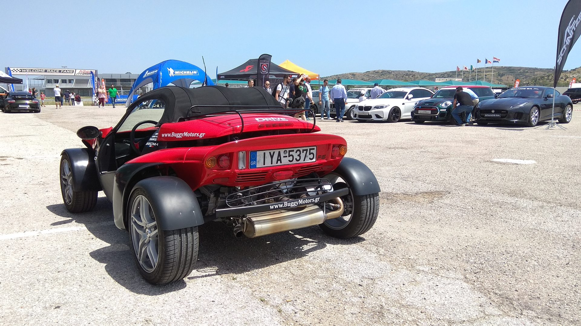 Secma F16 Roadster - Athens Circuit - SpeedSector Racetrack Experience