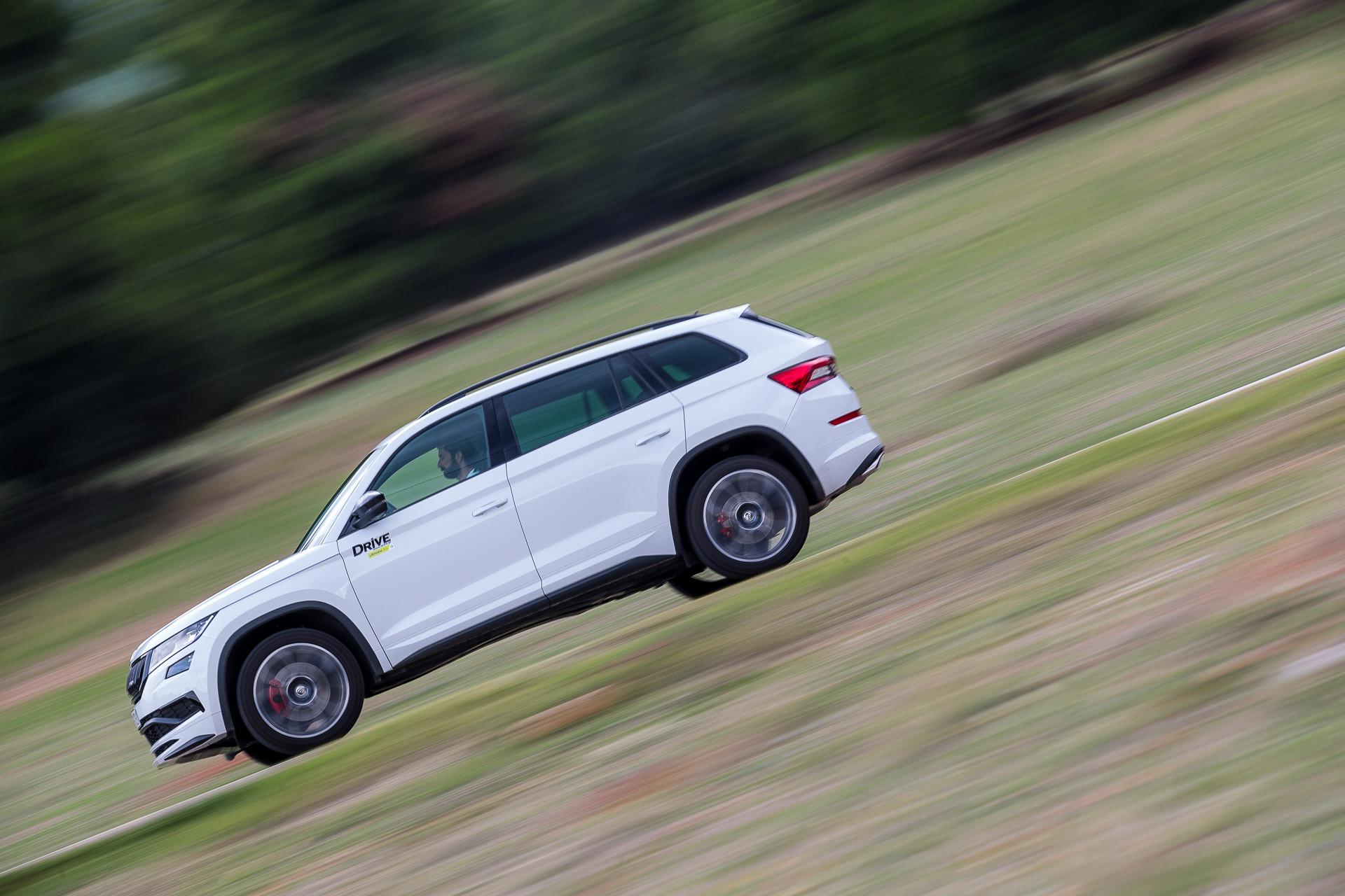Δοκιμή κίνησης: Škoda Kodiaq RS