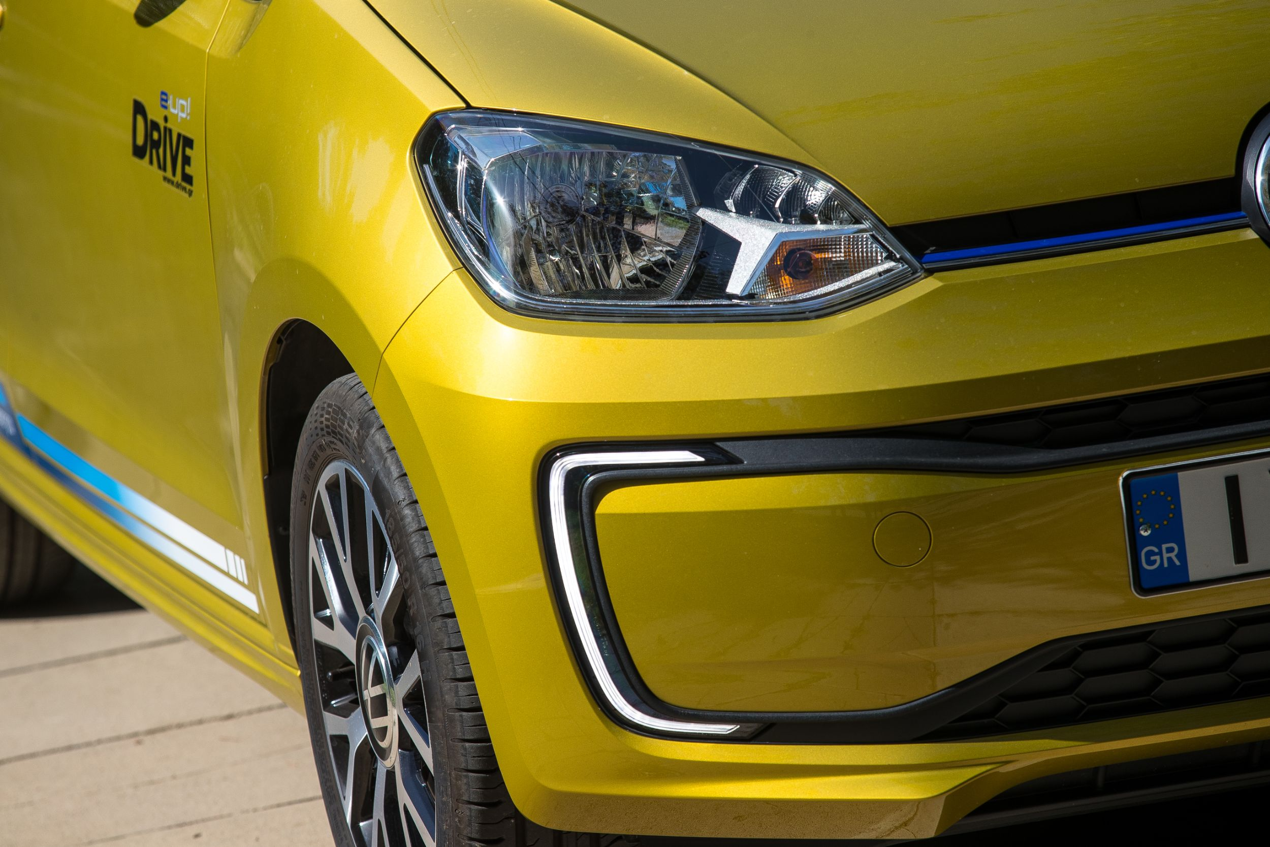 Δοκιμαστική μονάδα δίσκου: Volkswagen e-up!  MY2020