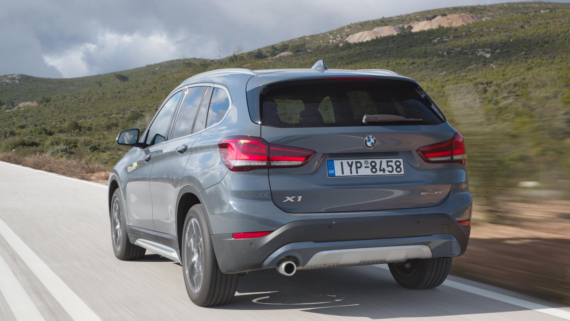 Δοκιμή κίνησης: BMW X1 sDrive18i