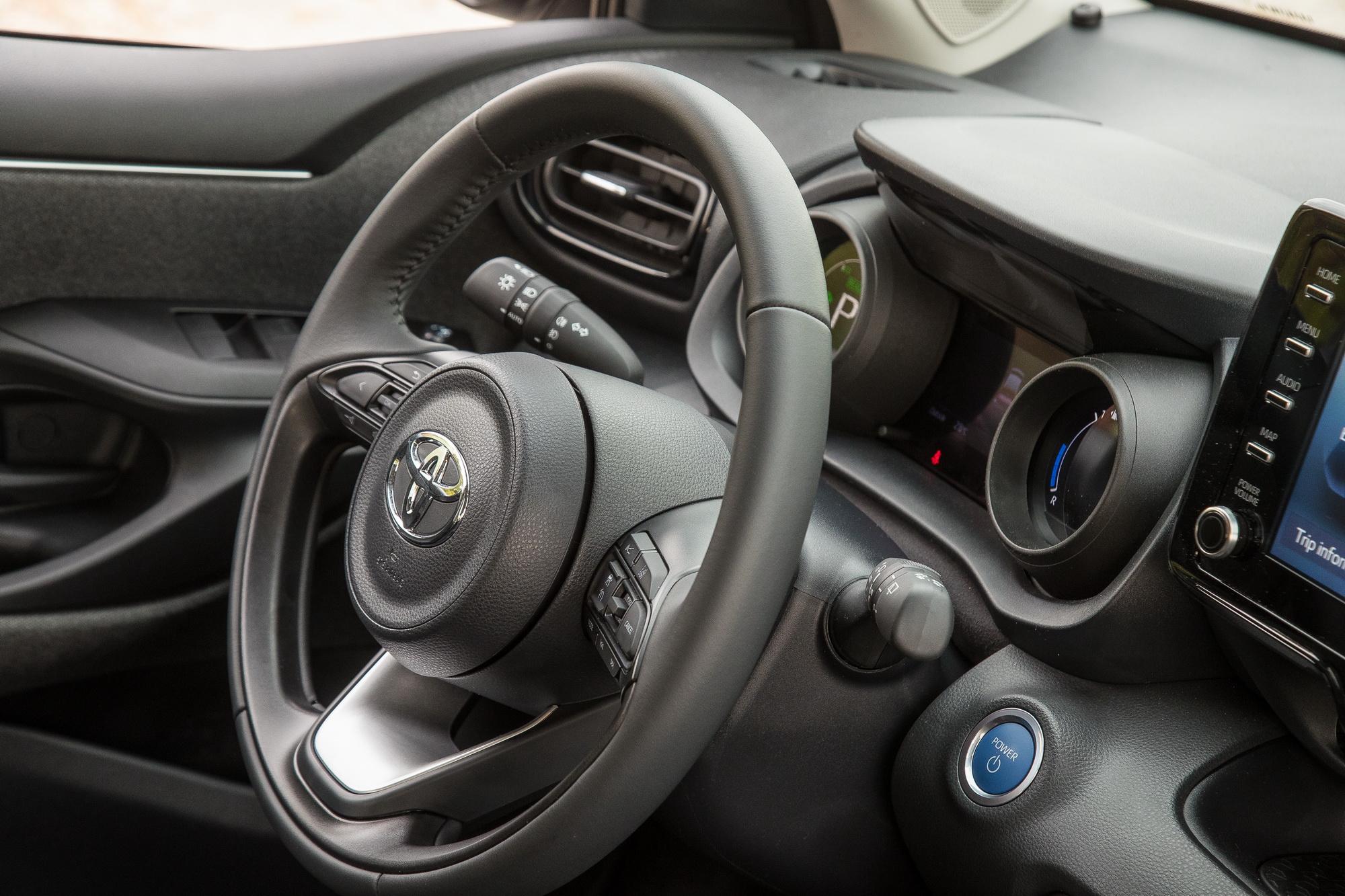 Δοκιμή κίνησης: Toyota Yaris Hybrid