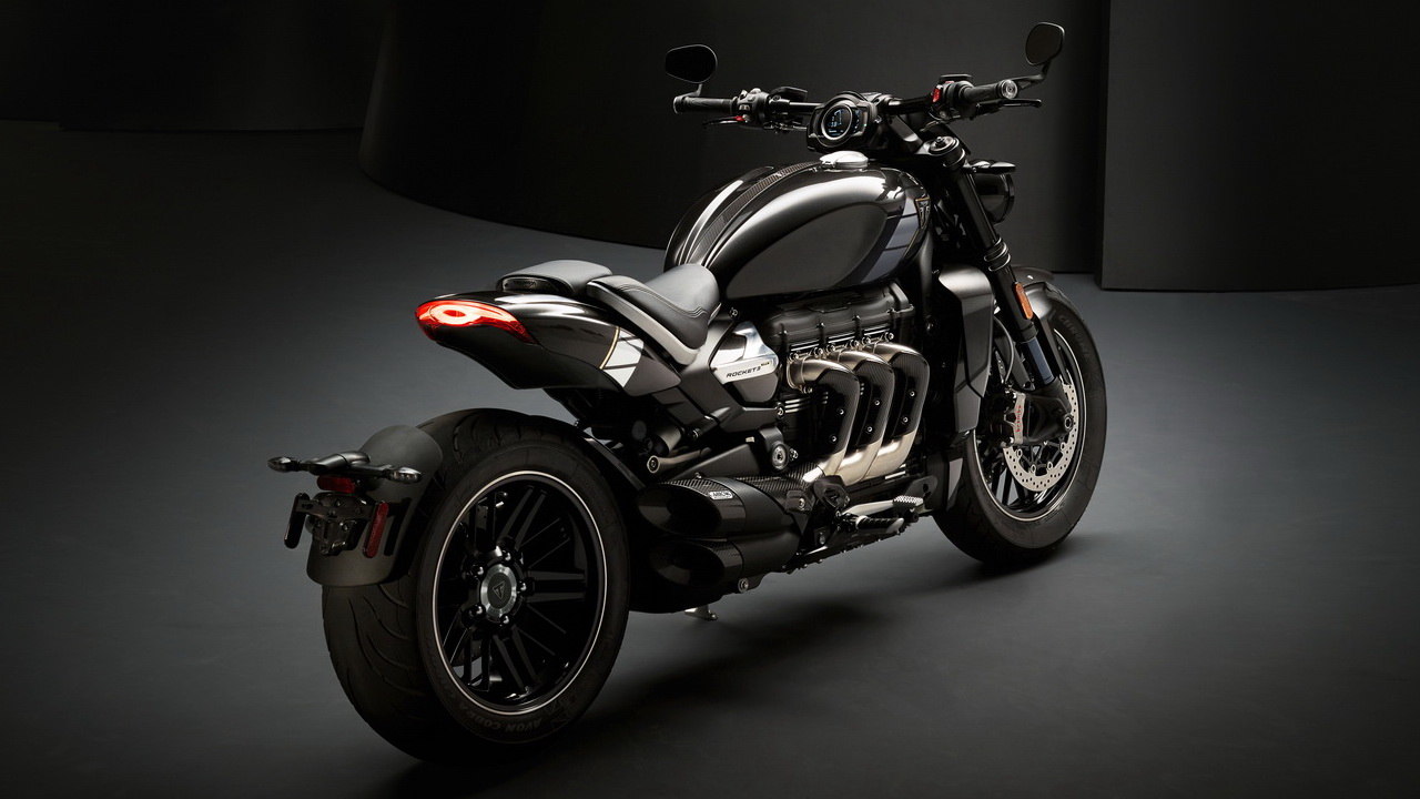 Triumph Rocket 3 TFC rear