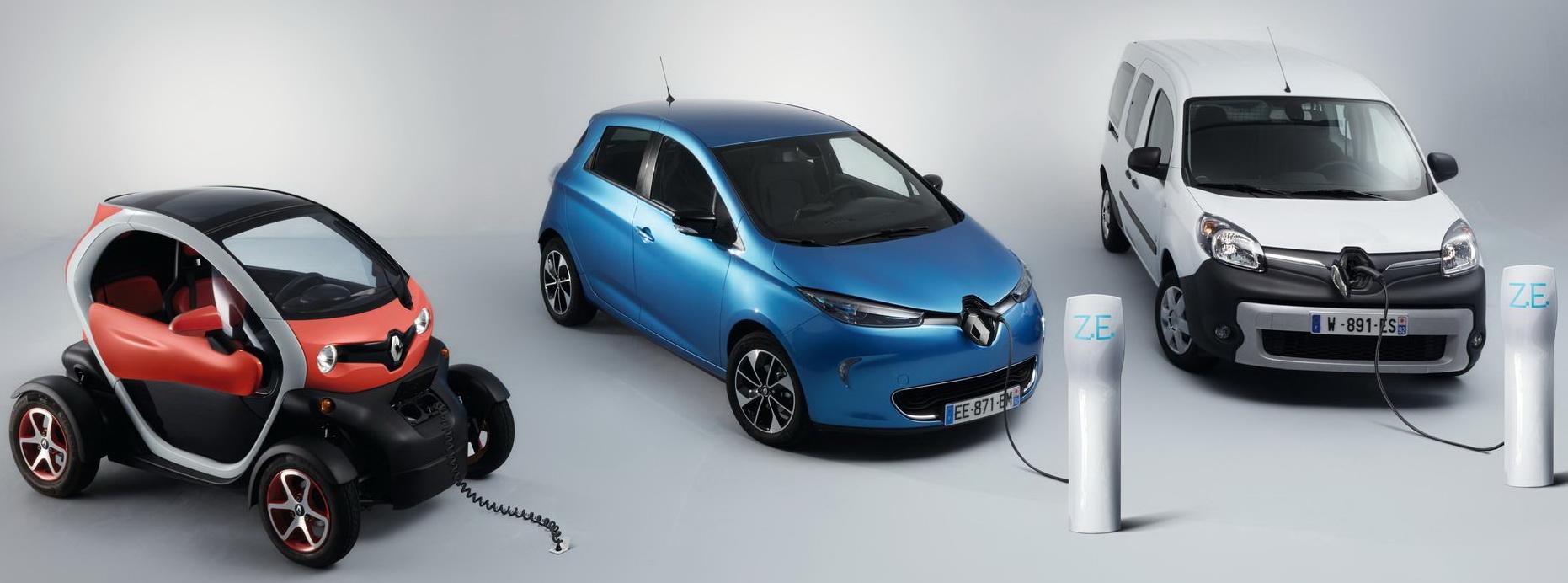 Renault EV line-up