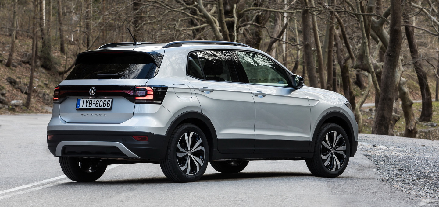 VW T-Cross static rear