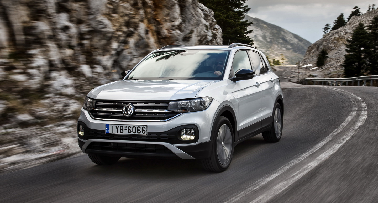 VW T-Cross drive front