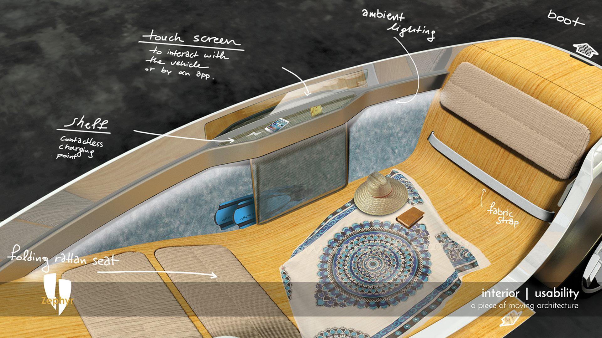 Zephyr - Flexible interior