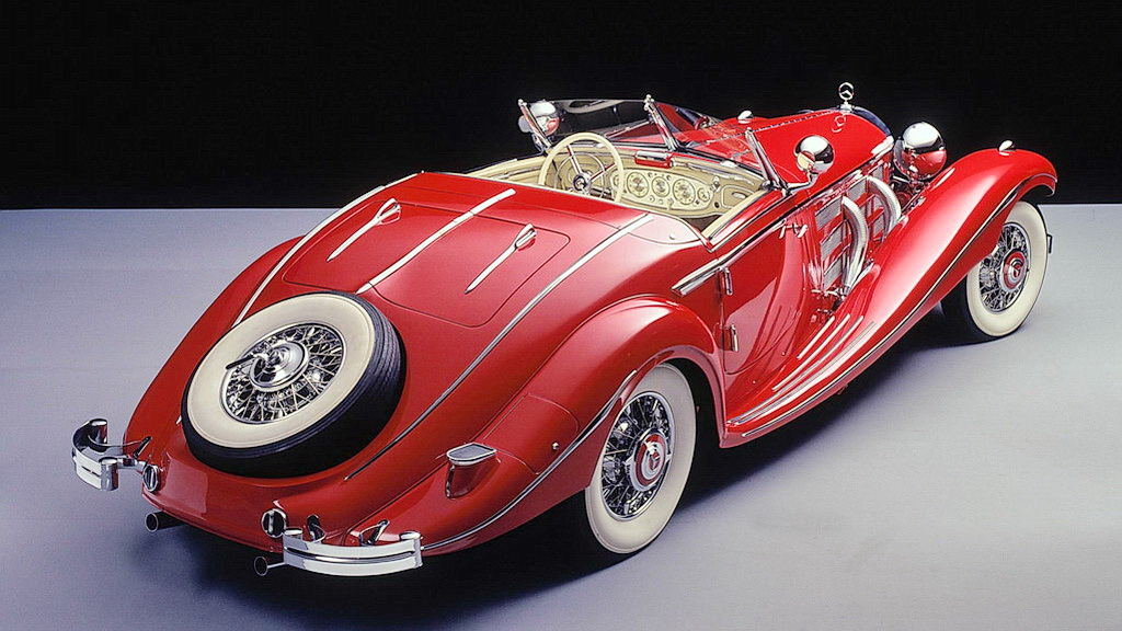 Mercedes-Benz 500Κ special roadster