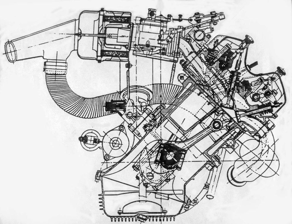 Lancia V4 Fulvia engine