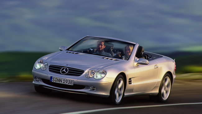 Mercedes-Benz SL R230 2001