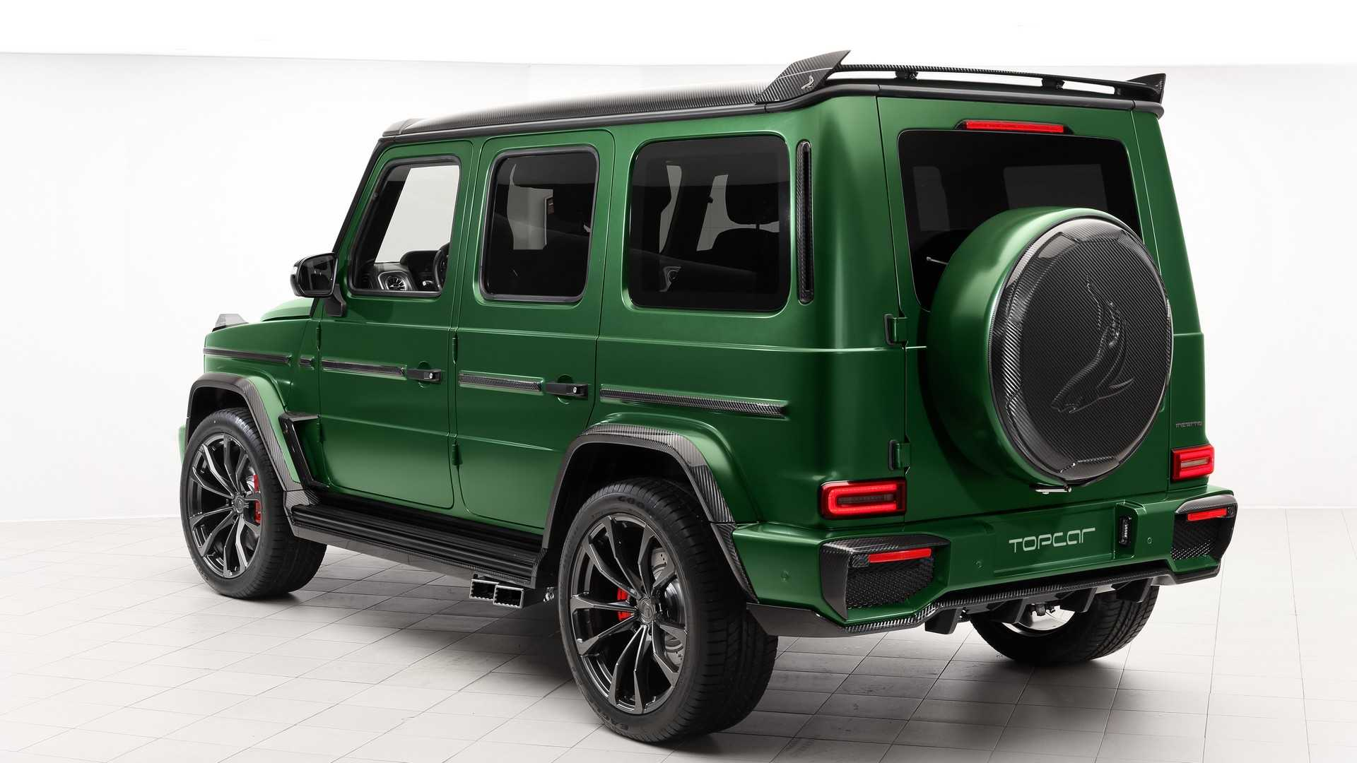 Mercedes G-Class Inferno by Topcar
