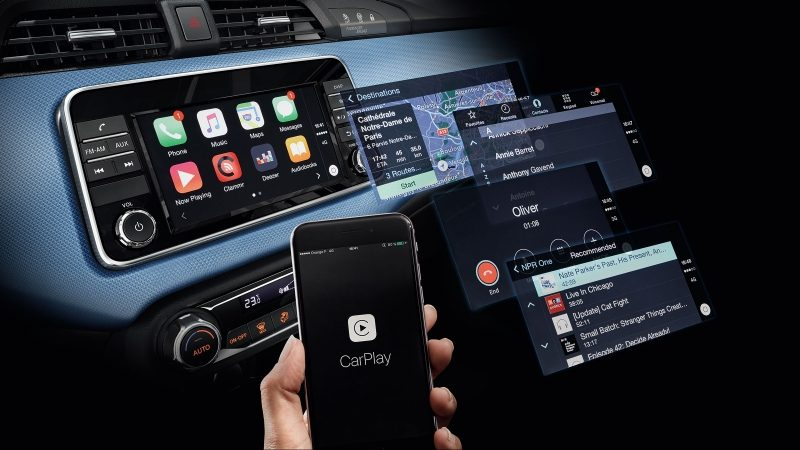 Nissan Micra Apple CarPlay