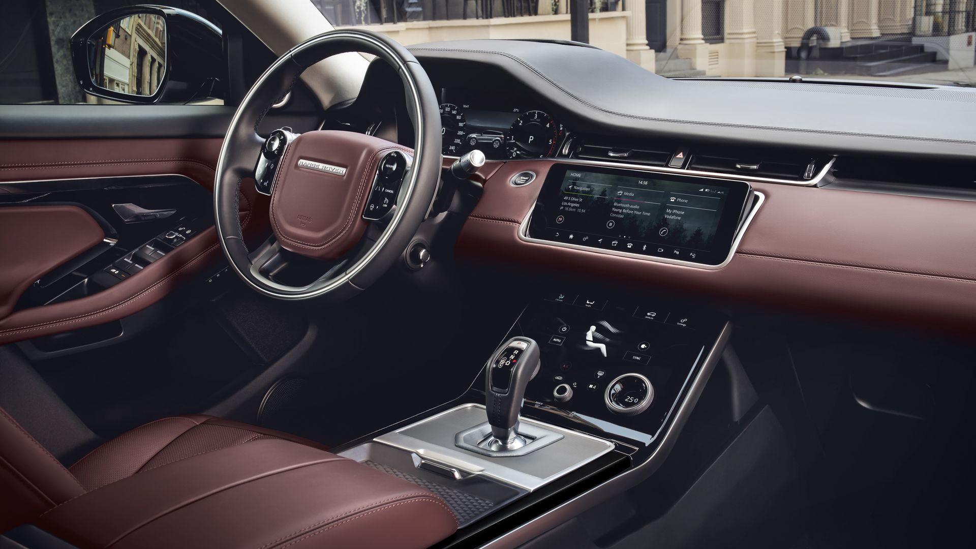 Range Rover Evoque 2020 Interior