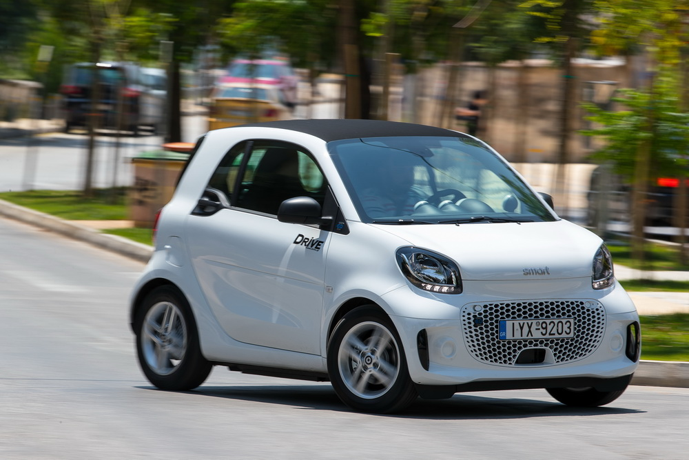 Test drive: smart fortwo EQ MY2020
