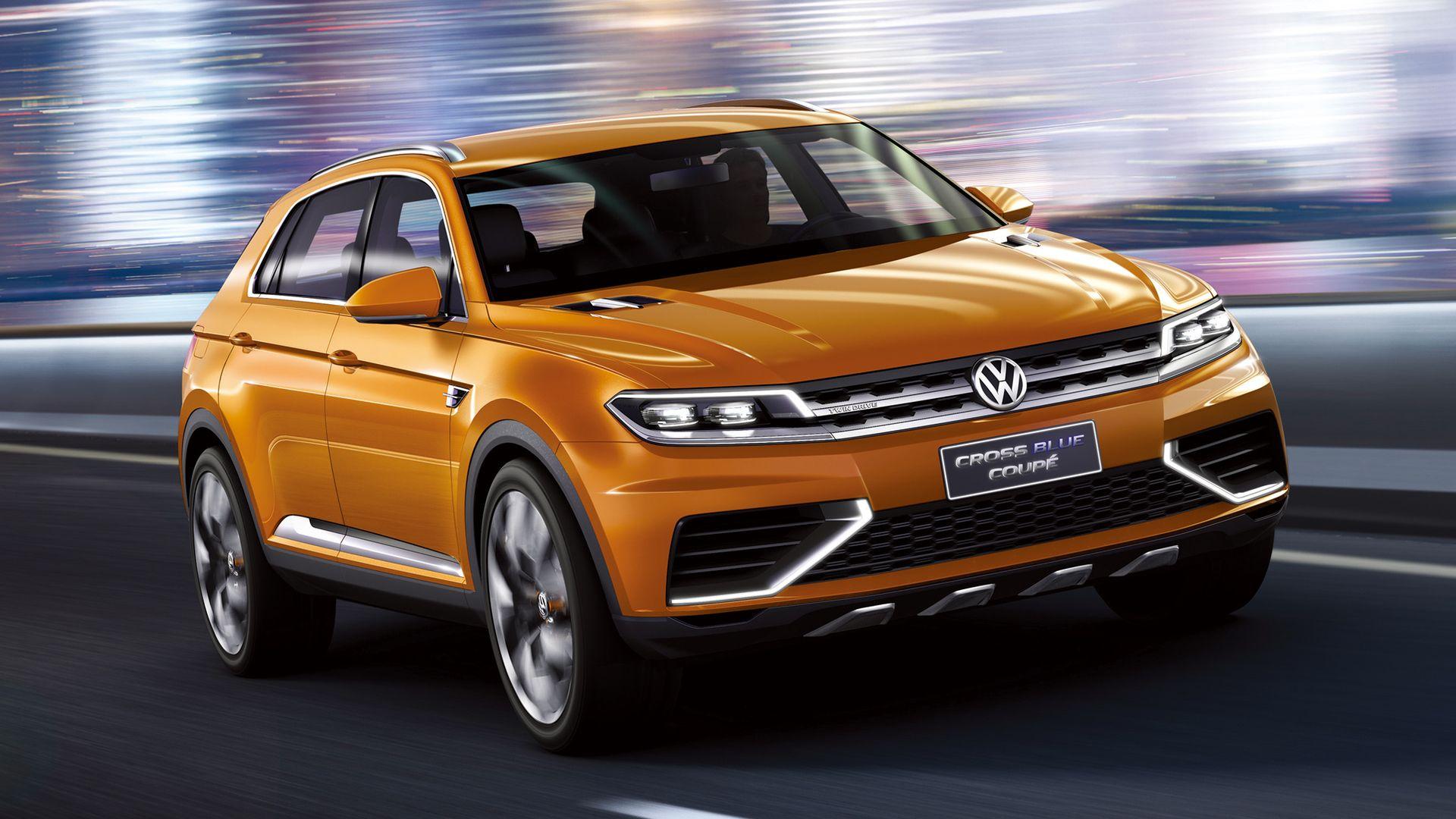 Volkswagen Crossblue Coupe Con 1