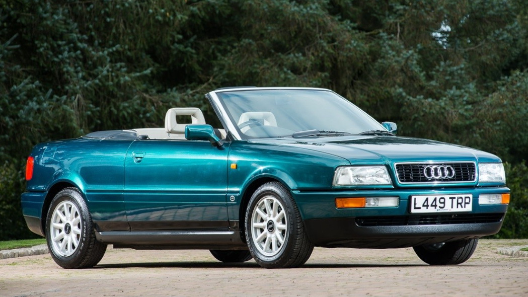 Audi 80 Cabriolet of Lady Di