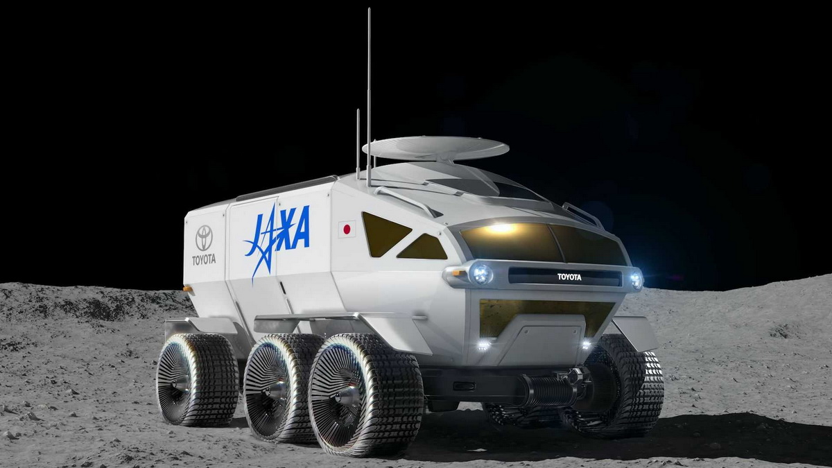 Toyota Lunar Cruiser, Japan Aerospace Exploration Agency