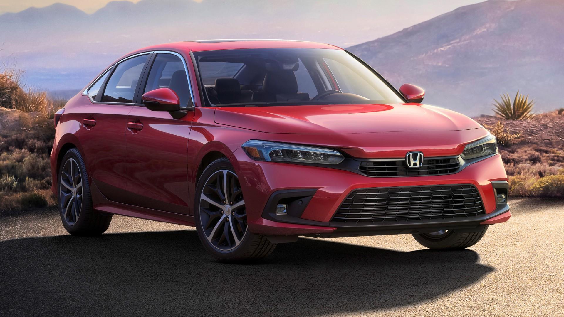 Η πρώτη επίσημη φωτογραφία του Honda Civic Sedan