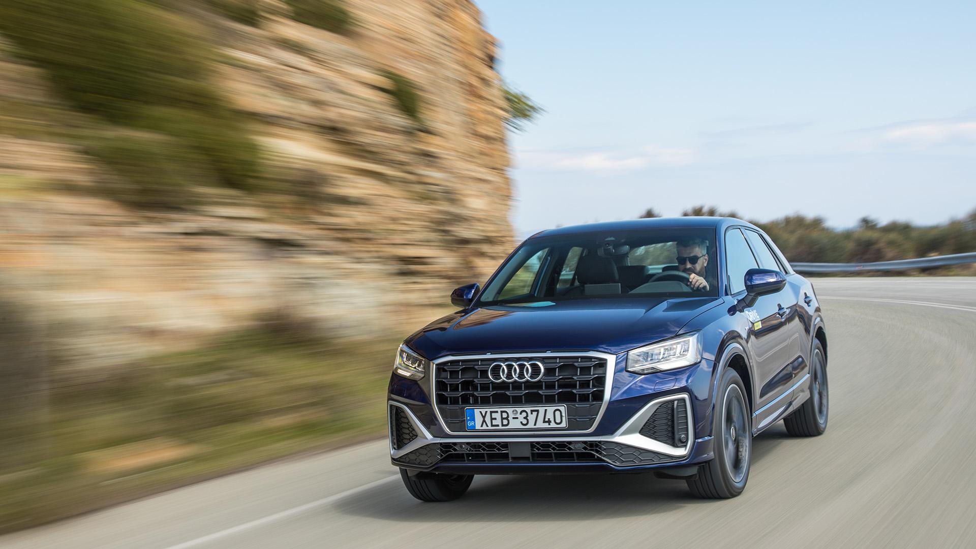 Δοκιμή κίνησης: Audi Q2 35 TFSI 150PS S Tronic