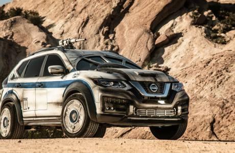 Star Wars: Nissan X-Trail μεταμφιεσμένο σε Millennium Falcon