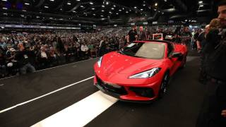 Chevrolet Corvette C8 vin #001, Scottsdale, Arizona, Barrett-Jackson Auction