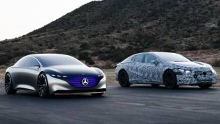Mercedes-Benz EQS Vision Concept & Mercedes-Benz EQS