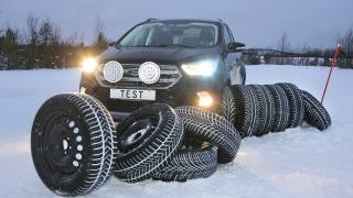 Touring Club Suisse: Winter tires test