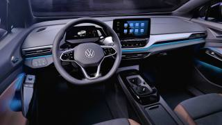 VW ID.4 dashboard