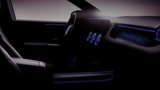 Mercedes-Benz EQA interior teaser
