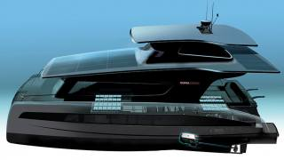 Solar electric Silent 55 yacht designed by Cupra