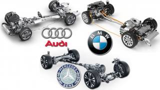 quattro vs xDrive vs 4MATIC